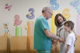 Emotivo encuentro en el hospital infantil de la paz dicen - Hospital materno infantil la paz ...